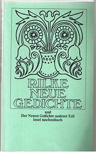 Rainer maria rilke neue gedichte