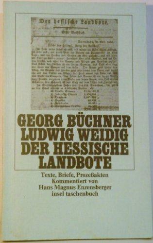 Der hessische Landbote.: BÜCHNER GEORG und