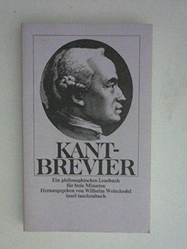 9783458017615: Kant-Brevier. Ein philosophisches Lesebuch für freie Minuten. it 61