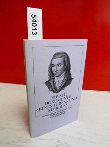 1) Novalis, Dokumente seines Lebens und Sterbens.: Hesse, Hermann (Hg.)