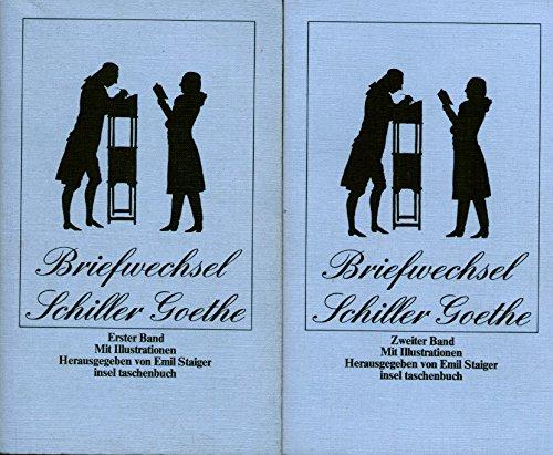 9783458019503: Der Briefwechsel zwischen Schiller und Goethe (Insel Taschenbuch) (German Edition)