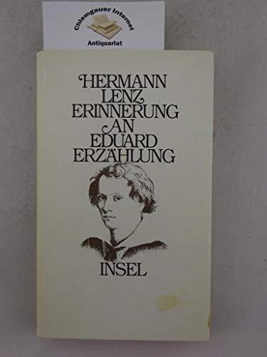 9783458047513: Erinnerung an Eduard: Erzählung