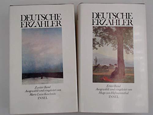 9783458049630: Deutsche Erzaehler: Zweiter Band Ausgewahlt und Eingeleitet von Marie Luise Kaschnitz (Vol. 2)