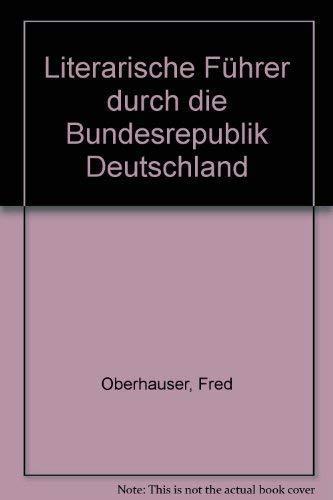 9783458059264: Literarische Führer durch die Bundesrepublik Deutschland