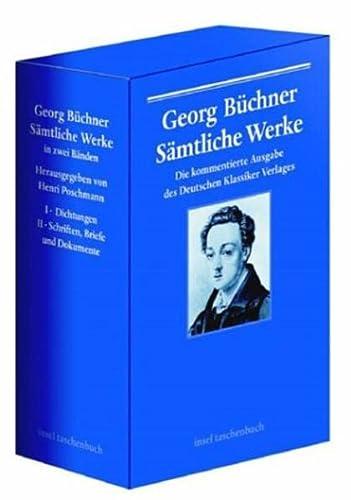 Georg Büchner. Sämtliche Werke, Briefe und Dokumente in zwei Bänden. Bd. 1 Di.