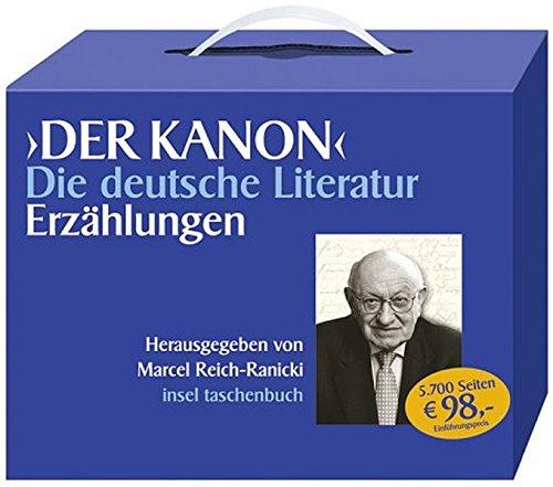 9783458067603: Der Kanon. Erzaehlungen. Die deutsche Literatur