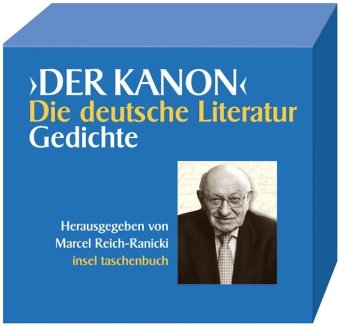 Der KANON'. Die deutsche Literatur. Gedichte. 8 Bände (7 Bde. + 1 Begleitband). - Reich-Ranicki, Marcel (Hg.)