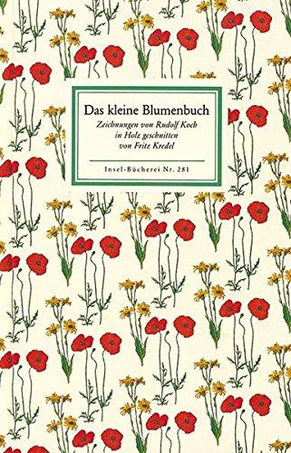 9783458082811: Das kleine Blumenbuch