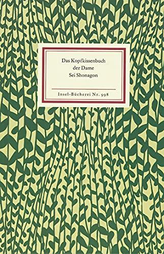 9783458089988: Das Kopfkissenbuch der Dame Sei Shonagon