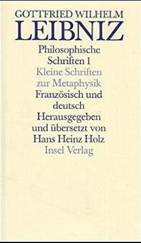 Werke: Gottfried Wilhelm Leibniz