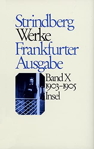Werke 1903 - 1905: Walter Baumgartner