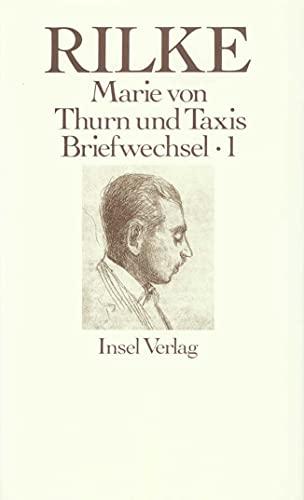 9783458142966: Rilke Briefwechsel mit Marie von Thurn und Taxis