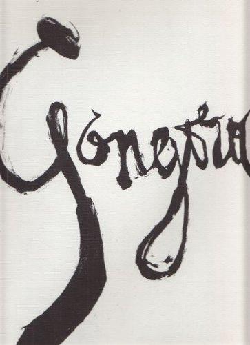 Gongora. 20 Sonette von Luis de Góngora: Picasso, Pablo.