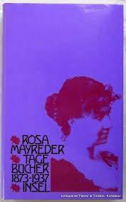 Tagebücher 1873-1937. - Mayreder, Rosa