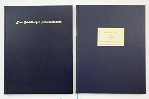 9783458148241: Das Heidelberger Schicksalsbuch (Pergament), Faksimile u. Kommentar in Leinenkassette