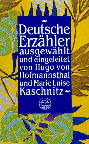9783458149637: Deutsche Erzähler.