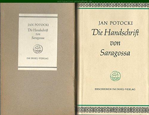 9783458152927: Die Handschrift von Saragossa