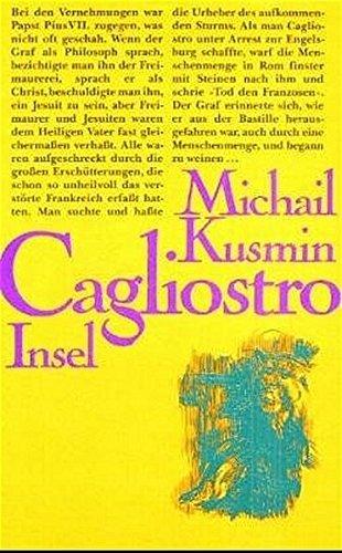 9783458161387: Das wundersame Leben des Joseph Balsamo Graf Cagliostro