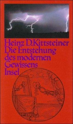 9783458161486: Die Entstehung des modernen Gewissens (German Edition)