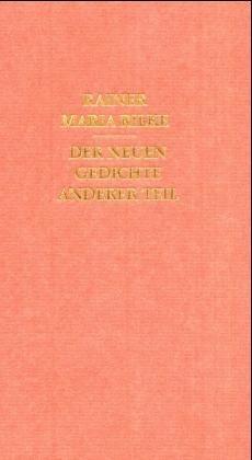 9783458161783: Der neuen Gedichte anderer Teil.