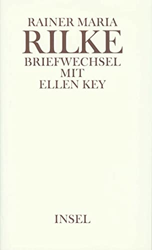 Briefwechsel Rilke / Key: Rainer Maria Rilke