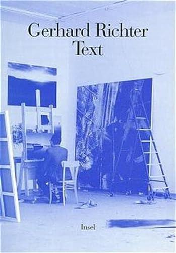 Text. Schriften und Interviews: Gerhard Richter