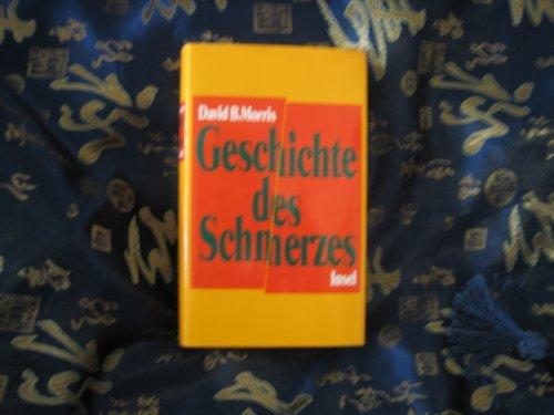 9783458166153: Geschichte des Schmerzes