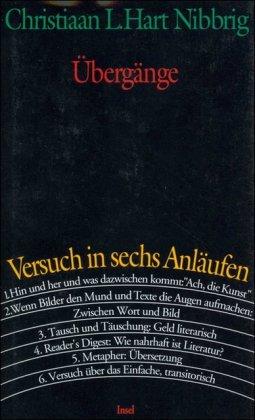 9783458166979: Ubergange: Versuch in sechs Anlaufen (German Edition)