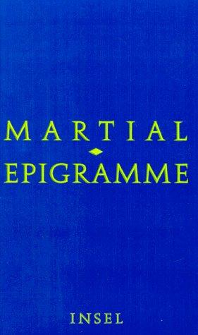 9783458168737: Epigramme.