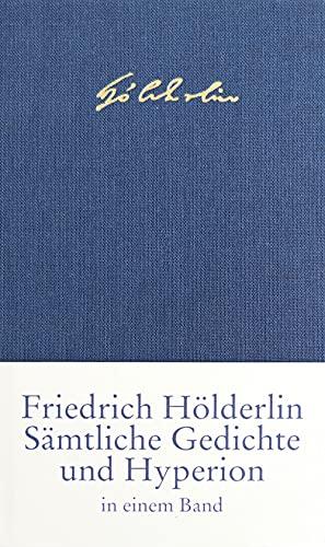 9783458169505: Sämtliche Gedichte und Hyperion