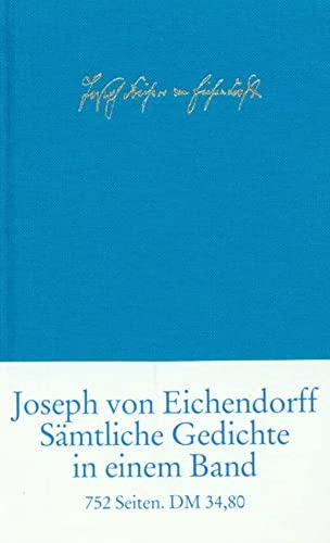 9783458170587: Sämtliche Gedichte und Versepen.