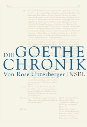 Die Goethe-Chronik.