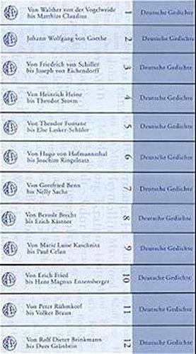 9783458171300: 1400 Deutsche Gedichte und ihre Interpretationen. Chronologisch von Walther von der Vogelweide bis Durs Grünbein.