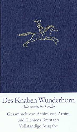 9783458171508: Des Knaben Wunderhorn. Alte deutsche Lieder.
