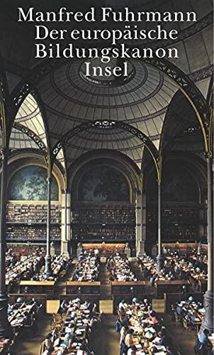 9783458172048: Der europäische Bildungskanon