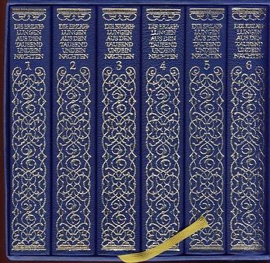 9783458172345: Die Erzählungen aus den Tausendundein Nächten: Vollständige deutsche Ausgabe in sechs Bänden nach dem arabischen Urtext der Calcuttaer Ausgabe aus dem Jahre 1839
