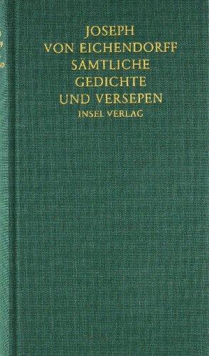 9783458173656: Sämtliche Gedichte und Versepen