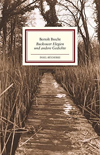 9783458177319 Buckower Elegien Und Andere Gedichte