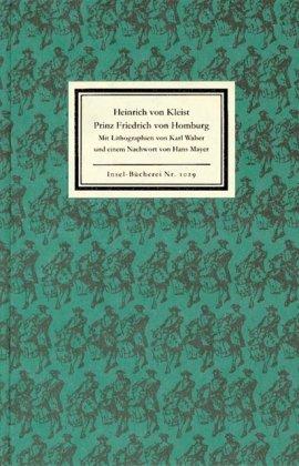 9783458190295: Prinz Friedrich von Homburg