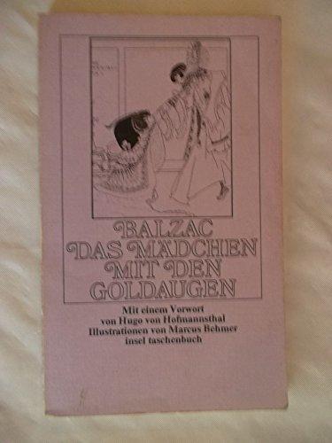 Das Mädchen mit den Goldaugen (insel taschenbuch): Balzac, Honoré de