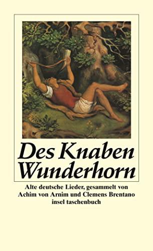 Insel Taschenbücher, Nr.85, Des Knaben Wunderhorn (German: Ranke, Friedrich
