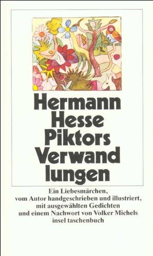 Piktors Verwandlungen (insel taschenbuch) - Hermann, Hesse,