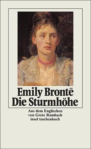 Die Sturmhöhe (insel taschenbuch): Brontë, Emily: