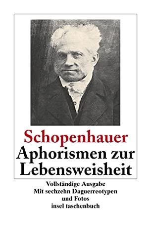 9783458319238: Aphorismen Zur Lebensweisheit