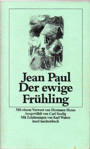 9783458319627: Der ewige Fr�hling