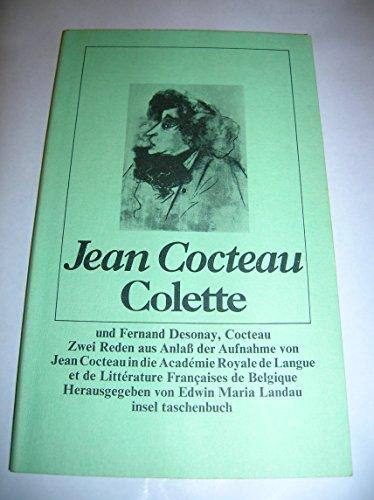 Cocteau / Colette. Zwei Reden.: Cocteau, Jean: