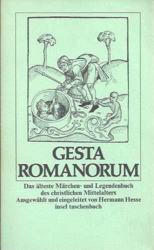 Gesta Romanorum. Das ?lteste M?rchen- und Legendenbuch
