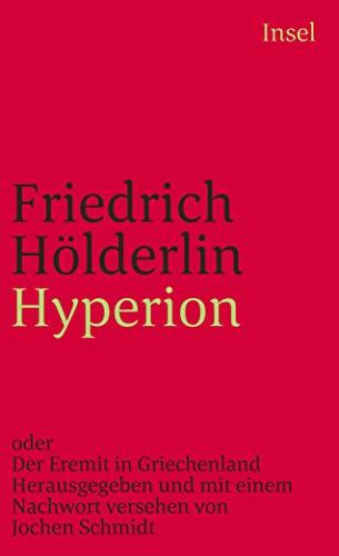 9783458320654: Hyperion (Insel-Taschenbuch ; 365) (German Edition)