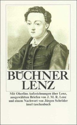 9783458321293: Lenz Erzählung. Mit Materialien zum Text.