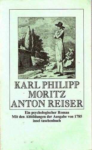 9783458321330: Anton Reiser. Ein psychologischer Roman